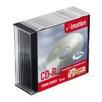 Imation CD-R Slim Jewel Case Pk10 18645