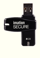 Imation 8GB Sec Sware Encr Flash Drive