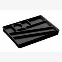 Durable Desk Drawer Organiser Black