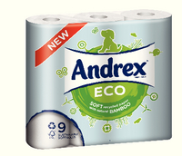 Andrex Eco 9 Roll White 4453610