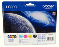 Brother Ink Cart Value Pack LC900 KCMY