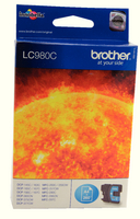Brother LC980 Ink Cartridge Cyan LC980C