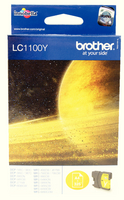 Brother LC1100 Ink Cart Yellow LC1100Y