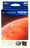 Brother LC1100 HY Cart Blk LC1100HYBK