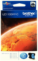 Brother LC1100 HY Ink Cart Cyn LC1100HYC