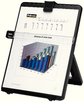 Fellowes Workstation Document Holder Blk