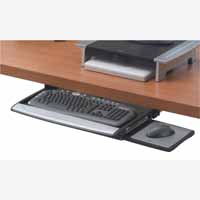 Office Suites Deluxe Keybrd Drw Blk/Silv