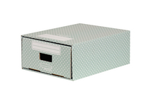 Bankers Box A4 Mini Drawer Grn/White Pk2