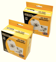 Fellowes CD Paper Envelope Pk50 90690