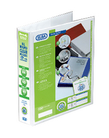 Elba A4 40mm 4D Ring Pres Binder White
