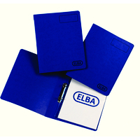 Elba Pressboard A4 16Mm Blue 400001650