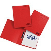 Elba Pressboard A4 16Mm Red 400001652
