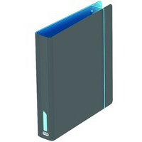 Elba Lever Arch File A4 On The Go Turq