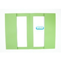 Elba Double Pocket Wallet 285Gsm Green