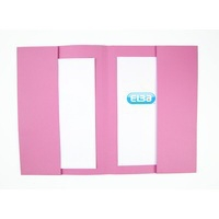 Elba Double Pocket Wallet 285Gsm Pink