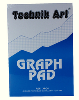 Technik Art Graph Pad 5mm Quad A4 XPG6