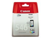 Canon CL-546 Blistered Secty - Ink Car