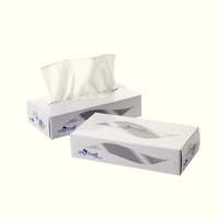 Facial Tissue Cream Box Pk36