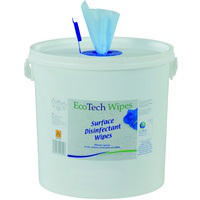 EcoTech Wipes Tub of 1000