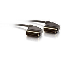Cablesto Std Rnd Scart Cable 2M Blk