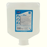 Deb Clear Foam Wash 2L Pk4 Clr2L