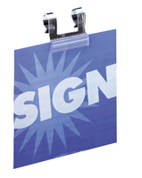 Deflect Wire Basket Sign Holdr 37mm Pk25