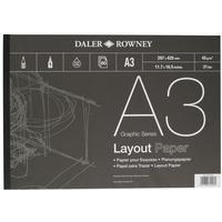 Daler Rowney Series A Layout Pad A3
