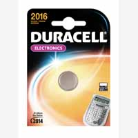 Duracell ButtonBattery Lithium 3V DL2016