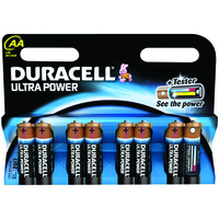 Duracell Battery Ultra Pk8 AA 75051925