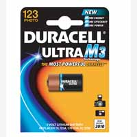 Duracell Battery Camera 3V Dl123A Card1