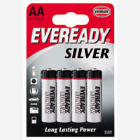 Eveready Battery Super AA Pk4 R6B4UP