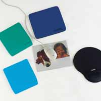 Curtis Gel Mouse Wristpad Black Mp11