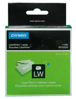 Dymo Return Addr Label 54X25mm White