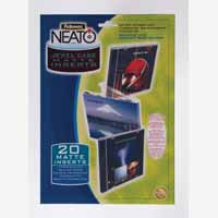 Fellowes Neato Jewel Case Insert P20