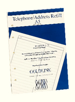 Guildhall Address Book Rfl Fnt A5 GA5/R