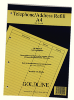 Guildhall Address Book Rfl Fnt A4 GA4/R