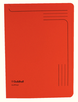 Guildhall Slipfile 12.5x9in Orange 14607