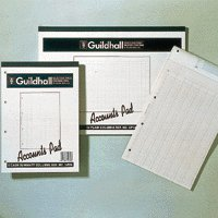 Guildhall Acc Pad Cash A4 GP2