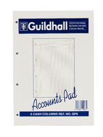 Guildhall Acc Pad Cash A4 GP6