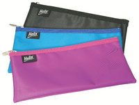 Helix Nylon Pencil Case 200x100 Ast Pk12