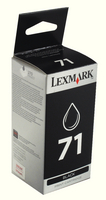 Lexmark No71 Ink Cart Black 015MX971E