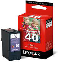 Lexmark No40 Photo Ink Cart CYMK