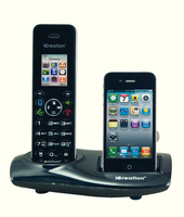 Icreate I650 Dect Cordless Phone Blk