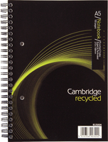 Cambridg Recyc A5 Wbound Nbook 100 Page