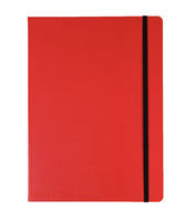 JD Red B5 Notebook
