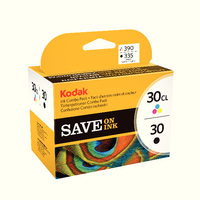 Kodak Combo Ink Cartridge 30B/30C CKMY
