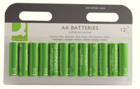 Q-Connect AA Battery Pk12