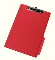 Q-Connect PVC Clipboard Single Red