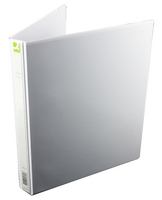 Q-Connect Pres Binder 4 DRing 16mm Wht