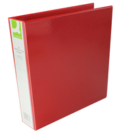 Q-Connect Pres Binder 4 DRing 40mm Red